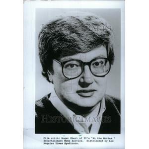 1991 Press Photo Film Critic Roger Ebert - RRU25333