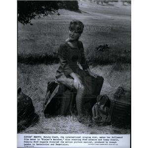 1969 Press Photo Petula Clark English Singer & Actress. - RRU40659