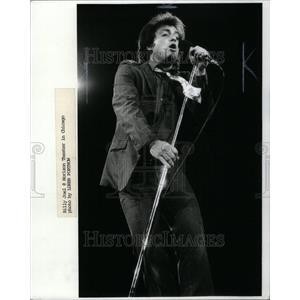 1980 Press Photo singer Billy Joel Horizon Chicago - RRU40579