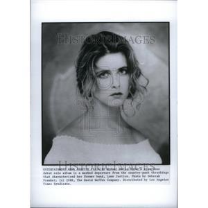 1990 Press Photo Maria McKee Musician Lone Justice - RRU28693