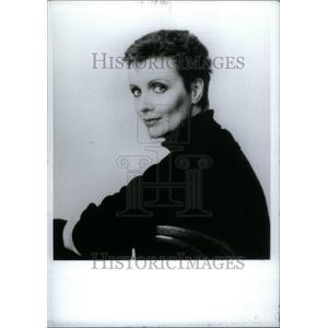 1991 Press Photo Maureen McGovern sings Macomb center - RRU28705