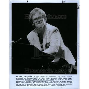 1994 Press Photo Elton John English Singer Composer USA - RRU40553