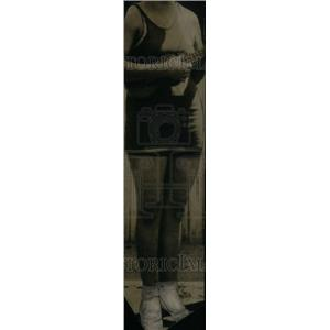 Press Photo Headless Woman Plays Ukelele - RRU24033