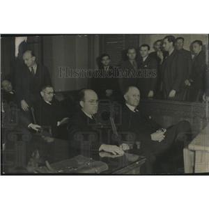 1937 Press Photo Verdict Jury Twelve Days Judgement - RRV04403