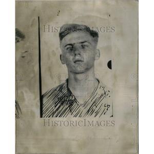 1936 Press Photo Edward Tomaszilwicz Bandit picture - RRU39595