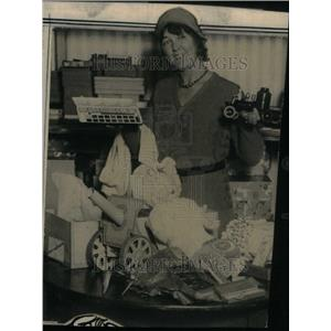 1930 Press Photo Mrs. V.J. Dunton Denver - RRU25897