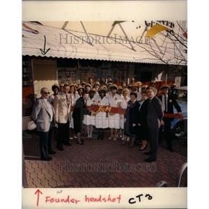 1992 Press Photo Founder Headshot Employess - RRU39827