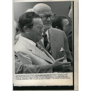 1975 Press Photo Yugoslavia President Josip Broz Tito - RRU39375