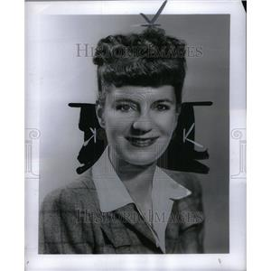 1948 Press Photo Portland Hoffa American Actress. - RRU44385