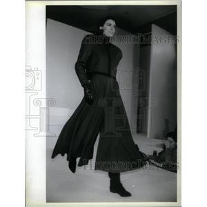 1988 Press Photo Eleanor Brenner malachite black glen - RRX35753