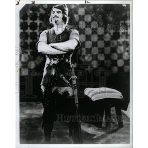 1991 Press Photo Douglas Fairbanks in 1922's Robin Hood - RRX29121