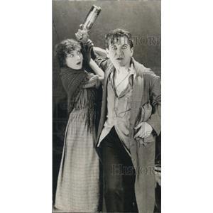 1922 Press Photo The Masquerader Guy Bates Post Insane And Ruth Sinclair