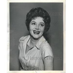 "1960 Press Photo Cara Williams on the CBS TV program ""Pete & Gladys"" - RSH62895"