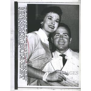 1956 Press Photo Miss America Sharon Kay Ritchie, Don Cherry - RSH47111