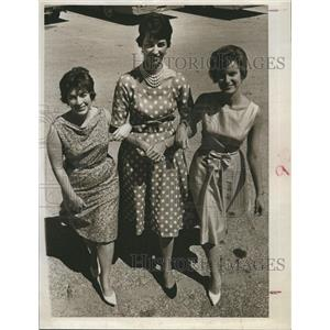 1963 Press Photo Johnson Martin Sewell Scholarship St. Petersburg Panhellenic