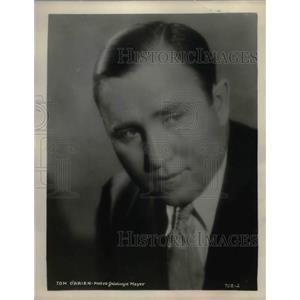 1929 Press Photo Metro Goldwyn Mayer actor Tom O'Brien