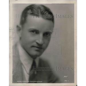 1929 Press Photo Metro Goldwyn Mayer actor Ralph Emerson