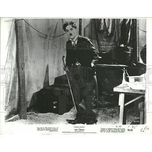 "1972 Press Photo Charlie Chaplin-""The Circus"" in 1927 - RRT73889"