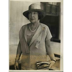 1926 Press Photo Famous Actress Olga Nethersole in Natl. Tuberculosis Convention