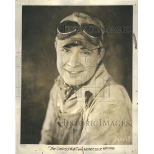 1925 Press Photo Monte Blue Silent Film Era Movie - RRS30107