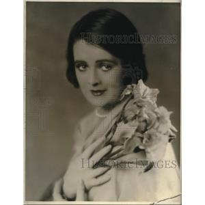 Press Photo Actress Molly O'Day, First National Pictures, The Patent Leather Kid