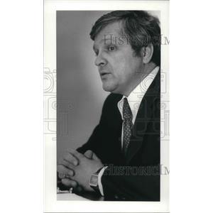 1982 Press Photo William J. Brown, Atty. Gen.