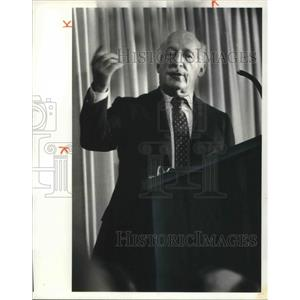 1981 Press Photo Joe Cole at City Club
