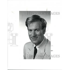 1991 Press Photo Profile Picture of Peter A. Beerwerth, Consul General - Germany