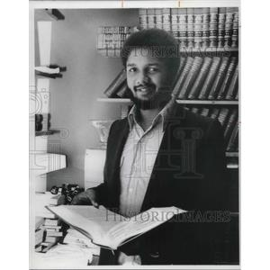 1977 Press Photo Omar M. Abdullah lawyer