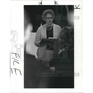 1984 Press Photo Ms Ray Donovan St Johns