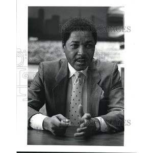 1987 Press Photo Don H. Barden CEO of The Majestic Star Casino