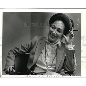 1981 News Photo Mrs. Ntiza Ben-Elfssar