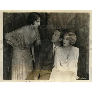 1929 Press Photo Actor Kenneth MacKenna, Marguerite Churchill, Dorothy Burgess
