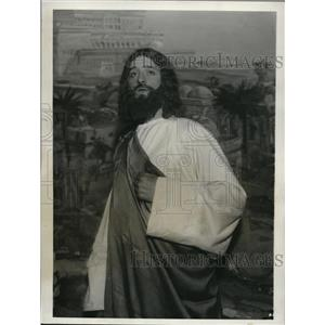 1931 Press Photo Passion Play with Paul Mallon as Christ in NJ