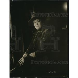 1918 Press Photo Josephine Hall, Actress