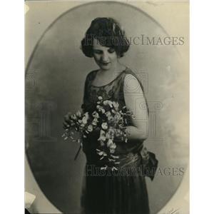 1924 Press Photo Orel Elgers, Vintage Actress Portrait