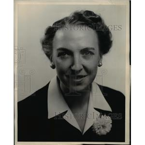 1945 Press Photo Betty Stark First Girl of Flight Crew on Transatlantic Clipper