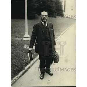 1922 Press Photo Alaska Mineral Prospector Fredk Zorn