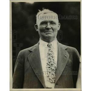 1931 Press Photo James H Breedlove Dean of Union Pacific Conductors - nee08274