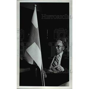1976 Press Photo John Vertanen - ora91503