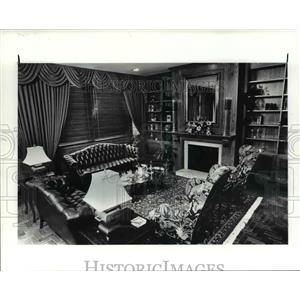 1986 Press Photo Interior of Clinic Inn - cva91878