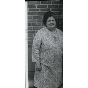 1976 Press Photo Mrs Wylie W Browne - spa01599