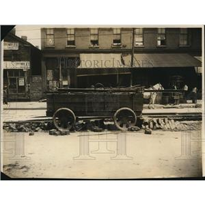 1968 Press Photo The Picture of Abandoned Trolley  - cva87375
