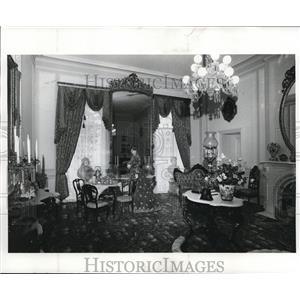 1982 Press Photo Wade Parlor at Western Reserve Historical Society  - cva81796