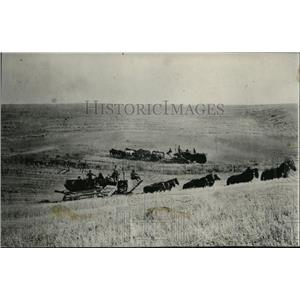 1926 Press Photo Harvest Scene - spa00249