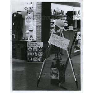 1967 Press Photo Halle Bros Co., Cleveland exploration - cva92650