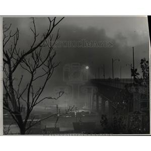 1954 Press Photo Smog. - cva84907