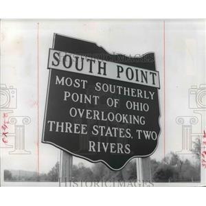 1972 Press Photo South Point Ohio - cvb03009