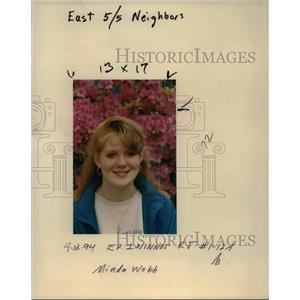 1994 Press Photo Minda Webb - ora92380