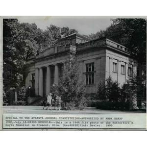 1948 Press Photo President Hayes Memorial in Fremont Ohio - cvb02712